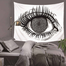 eye Wall Art Starry Sky Print Wall Tapestry Hanging Abstract Painting Blanket Bedspread Tablecloth Polyester Wall Hanging HA34 все цены