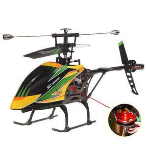 Image 1 - V912 4CH فرش RC هليكوبتر شفرة واحدة عالية الكفاءة الحركية إزالة التحكم لعب الأطفال هدية عيد ميلاد ألعاب للأولاد