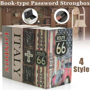 Security Mini Dictionary Safe Box Book Money Hide Secret Security Safe Lock Cash Money Coin Storage Jewelry Key Locker Kid Gift