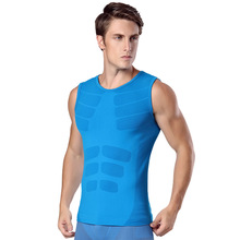 Body Shaper Sweat Zipper Vests Waist Trainer Slimming Thermo Shapewear Mens Breathable Modeling Nylon Tank Tops