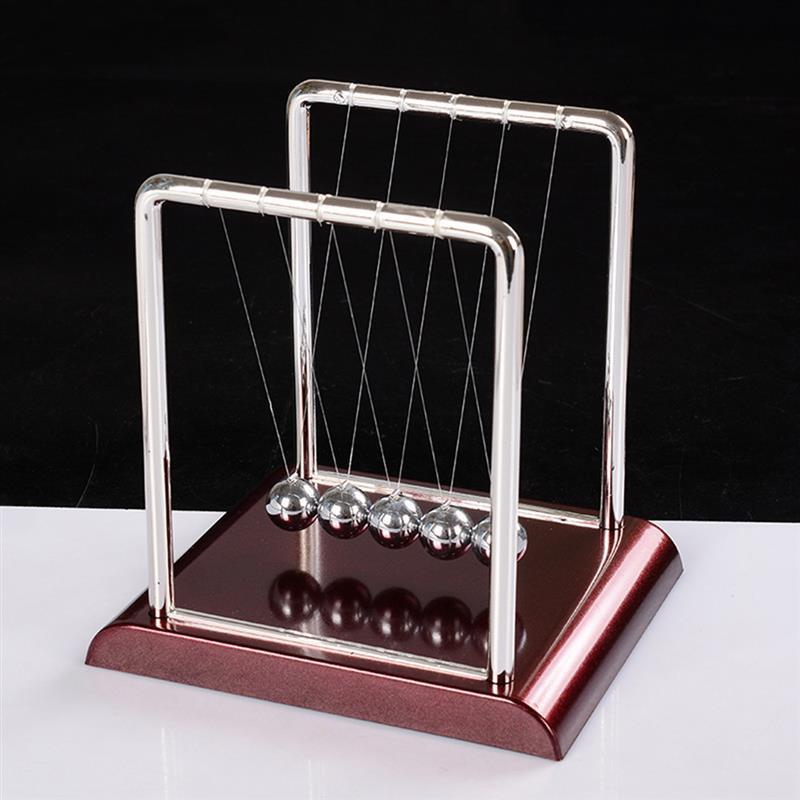 Newton Cradle Balance Steel Balls School Teaching Supplies Physics Science Pendulum Desk Toy Gifts Home Decoration 1