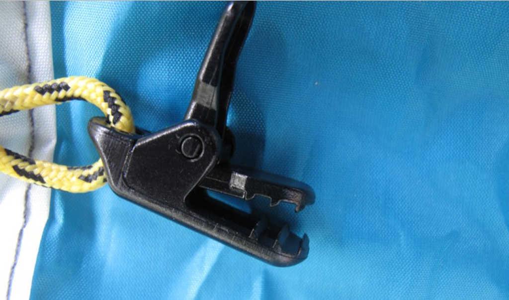 Perfeclan 10 Stuks Plastic Luifel Klem Tarp Cover Clips Snap Hangers Draai Tool Tie Down Camping Tent Luifel Boot Rv trailer