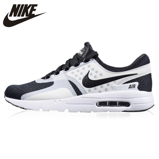 finest selection 317dc 884d4 Nike AIR MAX ZERO ESSENTIAL Men s Running Shoes Non-slip Shock Absorbing  Wear-resistant Outdoor Sports Sneakers  876070
