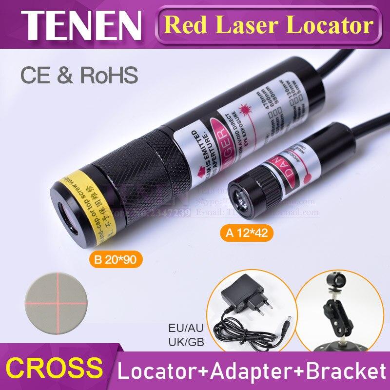 Stage Lighting Effect Lights & Lighting New High Quality Industrial Laser Head 650nm Laser 100mw High Power Line Locator Module 22x70mm Heatsink Laser Club Laser Light