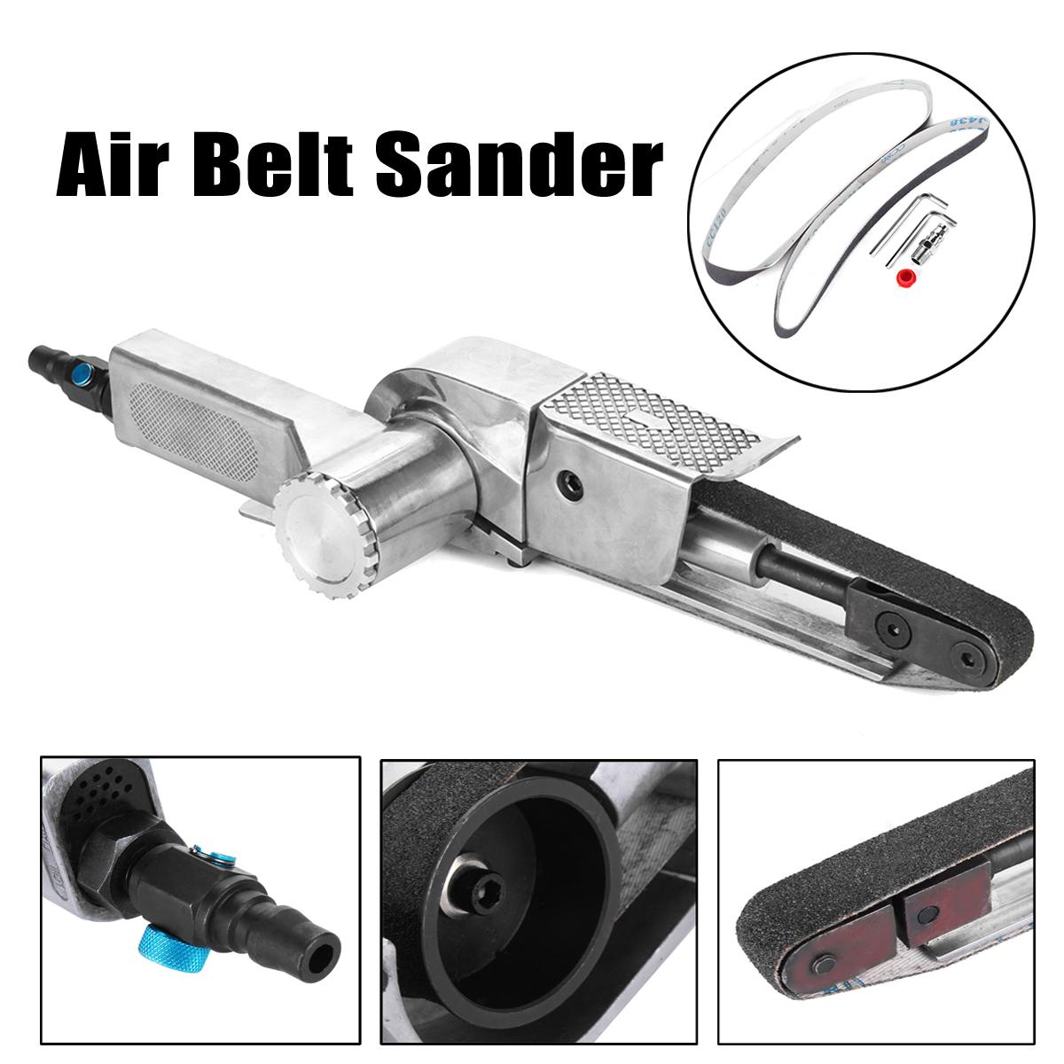 High Quality Premium Air Belt Sander Sanding for Buffing Assorted Vehicle Car Pneumatic Tools 20mmx520mmHigh Quality Premium Air Belt Sander Sanding for Buffing Assorted Vehicle Car Pneumatic Tools 20mmx520mm
