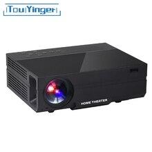 Touyinger X10 T26 T26K LED film Projector full HD 1920*1080px 3500 4000 Lumens Beamer Video Home Theater Multimedia HDMI/VGA/ AV