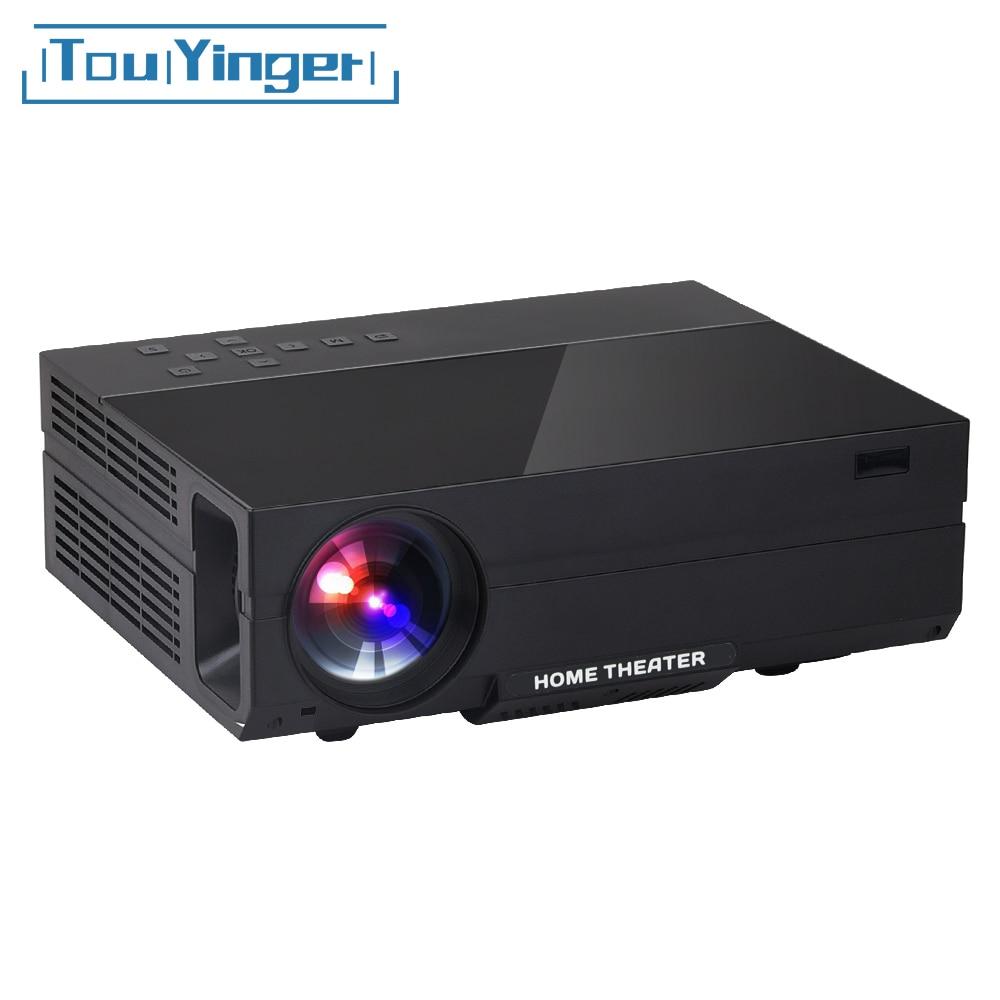 Touyinger X10 T26 T26K led film Projecteur full HD 1920 * 1080px 3500 4000 Lumens Beamer Vidéo Home Cinéma Multimédia HDMI/VGA/AV