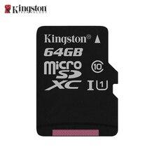 Карта памяти Kingston SDCS/64GBSP/microSDXC/64 Гб/UHS-I Class 10 U1