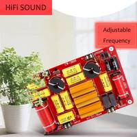 LEORY High Fidelity DIY Audio Sound 3 Way Crossover 600W Strong Power Frequency Divider Adjustable