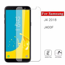 j4 J Glass Tempered For Samsung Galaxy J4 2018 SM-J400F Protective on 4 J42018 Glas 9H Premiun Screen Protector HD