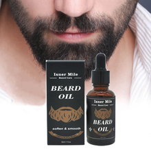 30ml Natural Plant Argan Nuts Men Beard Growth Oil Moisturizing Prevent Bifurcat