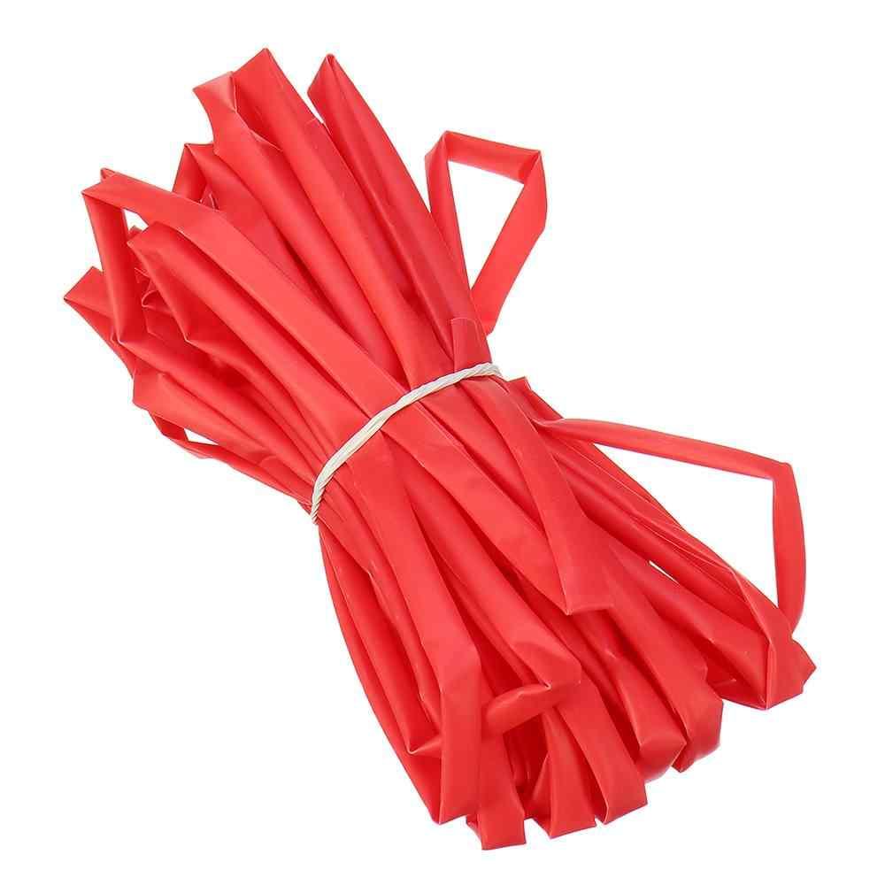 Tube thermorétractable 10 m 2/3/4/5/6mm couleur noir rouge pour batterie Lipo Drones RC FPV quadrirotor pièce de rechange accessoires de bricolage