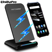 Qi Certified 10W Wireless Charger for Ulefone X   Armor X   Armor 7 6S 6E 6 5 5S Mobile Phone Wireless Chargeing Stand Holder|Mobile Phone Chargers| |  -