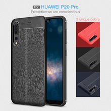 Case For Huawei P20 Lite Nova 3i 2i Soft Silicone Protective Back Cover For Honor 10 Mate 10 Lite 20 Pro Leather Texture Fundas(China)