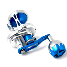 купить Saltwater Fishing trolling Reel TC100-500R Max Drag 25-35kg Sea Boat Jigging Reel дешево