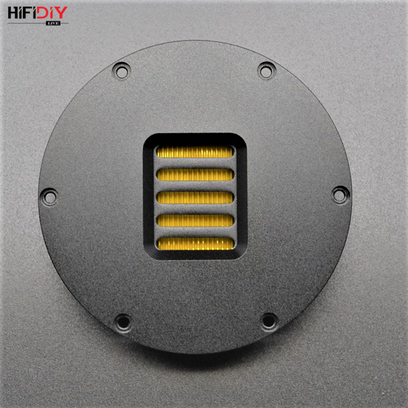 HIFIDIY LIVE  4 Inch Tweeter Speaker Unit Air Motion 4 OHM 40W Treble Loudspeaker AMT-103 DIY Super Belt Type High Loudspeaker