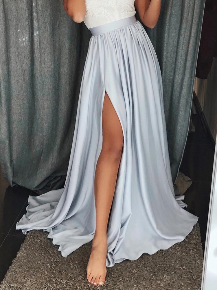 Boho Women Long Maxi Dress Casual Slim V Neck Fashion Female