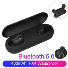 Bluetooth Earphones 5.0 TWS Wireless Headphones Waterproof Blutooth Earphone Handsfree Headphone Sports Earbuds Gaming Headsets