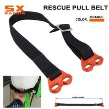 Motorcycle Universal Fork Rescue Strap Pull Sling Belt For KTM EXC SX SXF XC XCF XCW YZ YZF WR WRF CR CRF XR RMZ DRZ KX KLX KXF