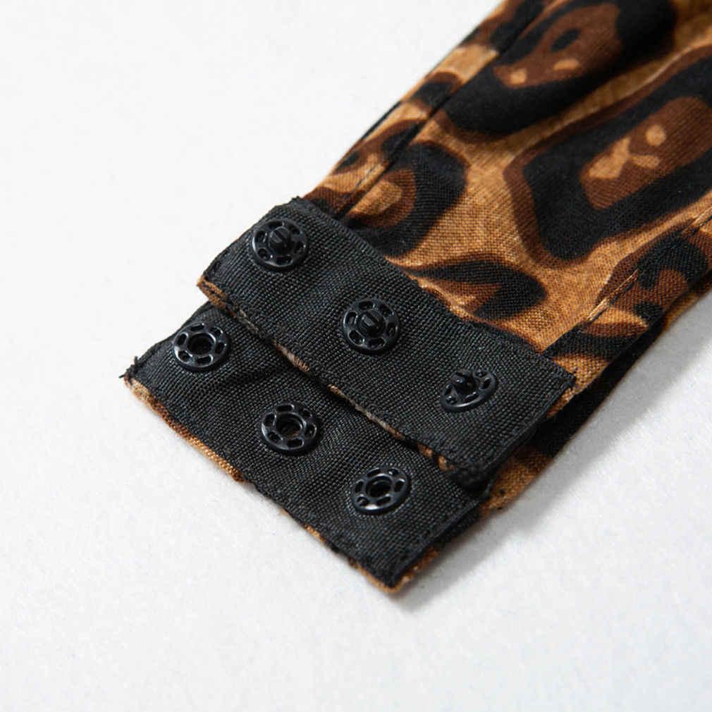 Новые поступления плюс размеры для женщин пикантные леопардовым принтом Комбинезон боди стрейч топы с леопардовым принтом блузка одежда без рукаво