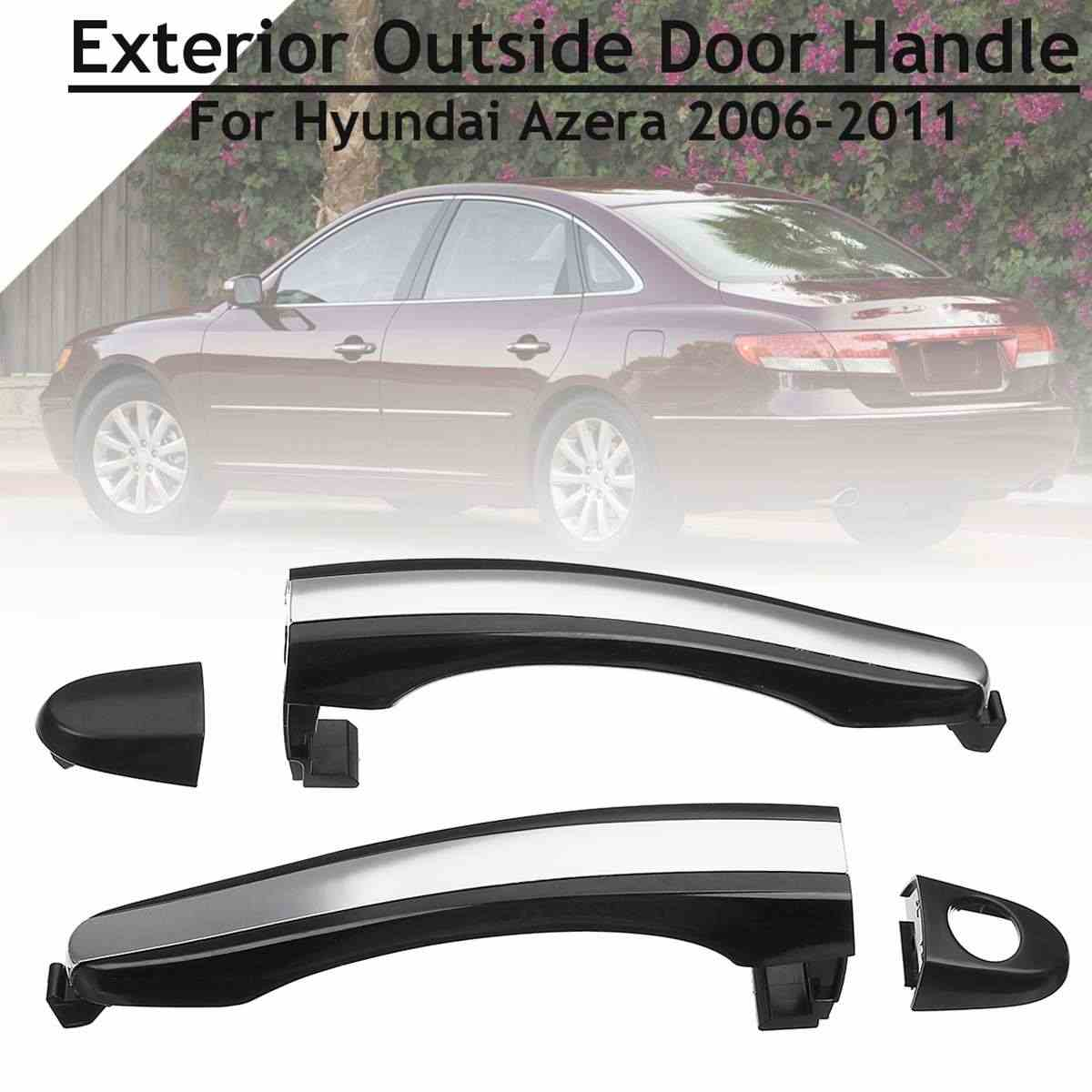 Rear Front Left Right Side Exterior Outside Door Handle Cover Trim Replacement For Hyundai Azera 2006 2007 2008 2009 2010 2011 Aliexpress