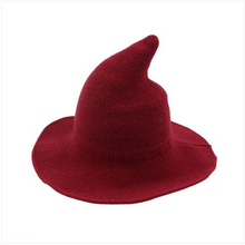 586d3c2eb7d Thefound 2019 Fashion Wool Halloween Witch Hat Modern Witch Hat Made ...