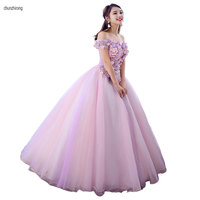 Quinceanera Dresses 2019 Hot Sales Sweet Ball Gown Lace Elegant Gorgeous Chic Prom Dress Quinceanera Growns vestido de quinceano