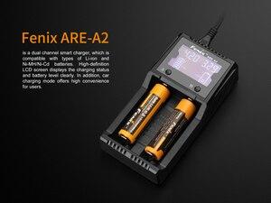 Image 3 - Fenix ARE A2 18650 3,7 v cargador de batería recargable + 12v DC