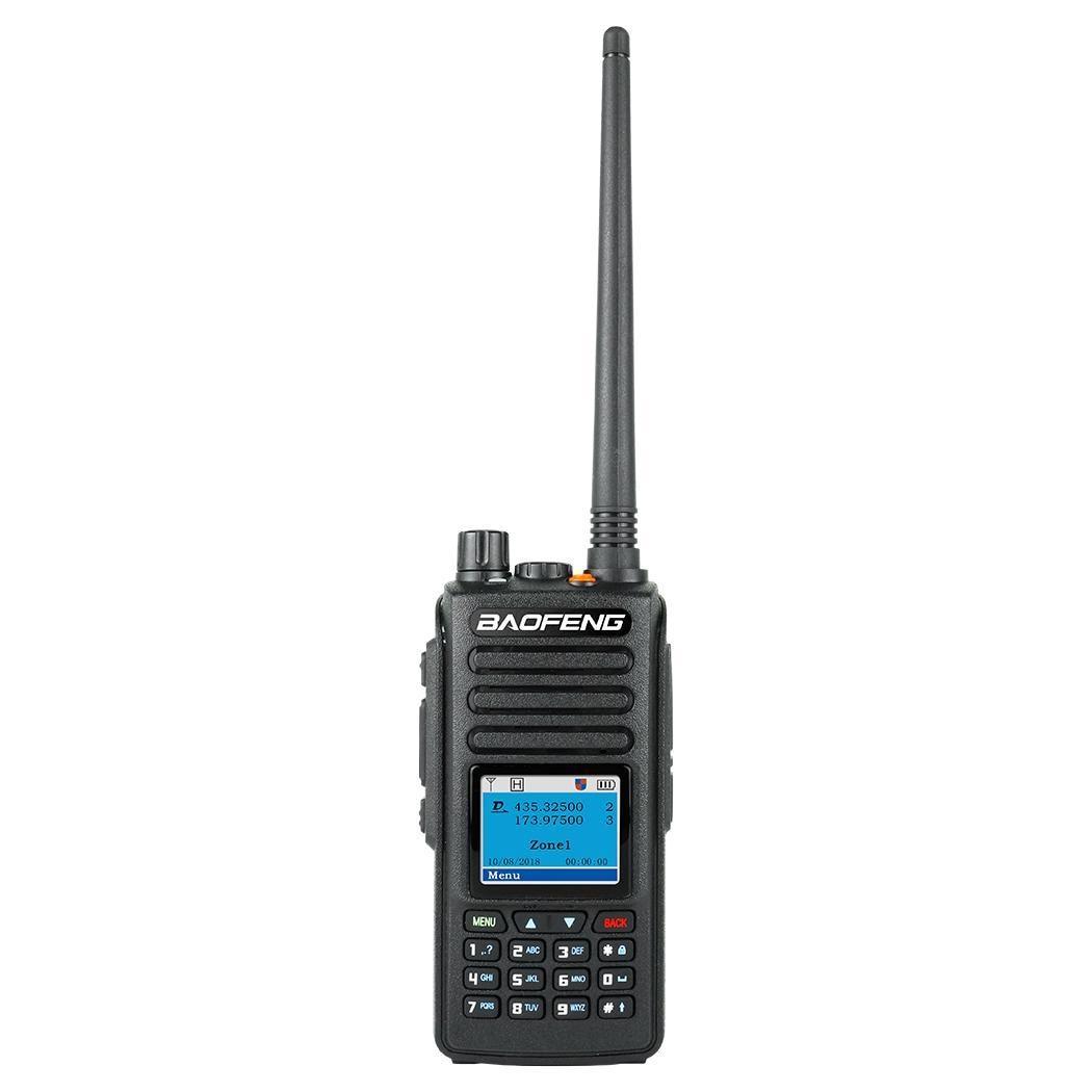 Long Range Walkie Talkie Radio Dual Black Band Portable -20+55 Radio 2.5ppm Communicator DC7.4V20% /(2000mAh)