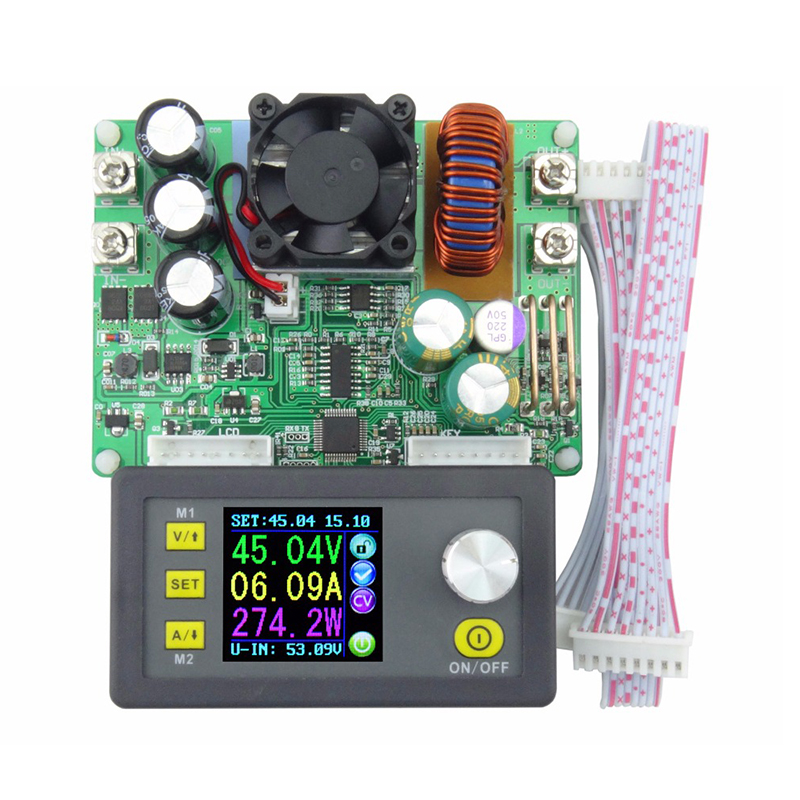 New 50V 15A Constant Voltage Current Step down Regulated Power Supply Module For Electrical Instrument