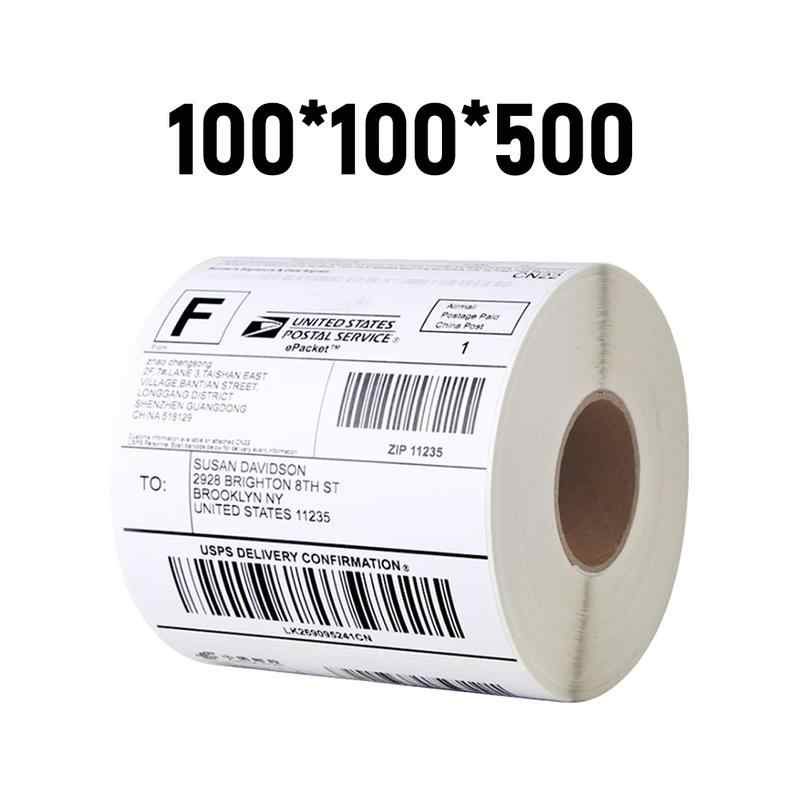 100-5000 BLANK STICKERS ADDRESS SHIPPING 65 X 112 LARGE THERMAL POSTAGE LABELS