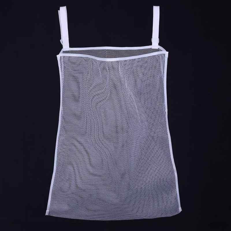 เด็กเสื้อผ้าสกปรกอเนกประสงค์ Crib Organizer แขวนในครัวเรือนขนาดใหญ่ Crib เส้นรอบวงแขวนเก็บเสื้อผ้าสกปรก