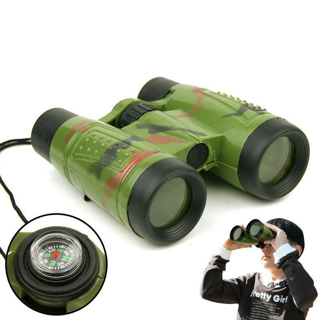Telescopes Binoculars Compass Kids Toys Gifts shape Vivid Green bright Children Toy colors Camouflage Educational Casual