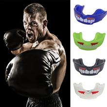 Silicone Teeth Protector Adult Mouth Guard Mouthguard For Boxing Sport Football Basketball Hockey Karate Muay Thai