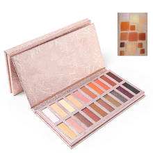 20 Colors Eyeshadow Palette Shimmer Eye Shadow Powder Matte Pigmented Makeup Pallete