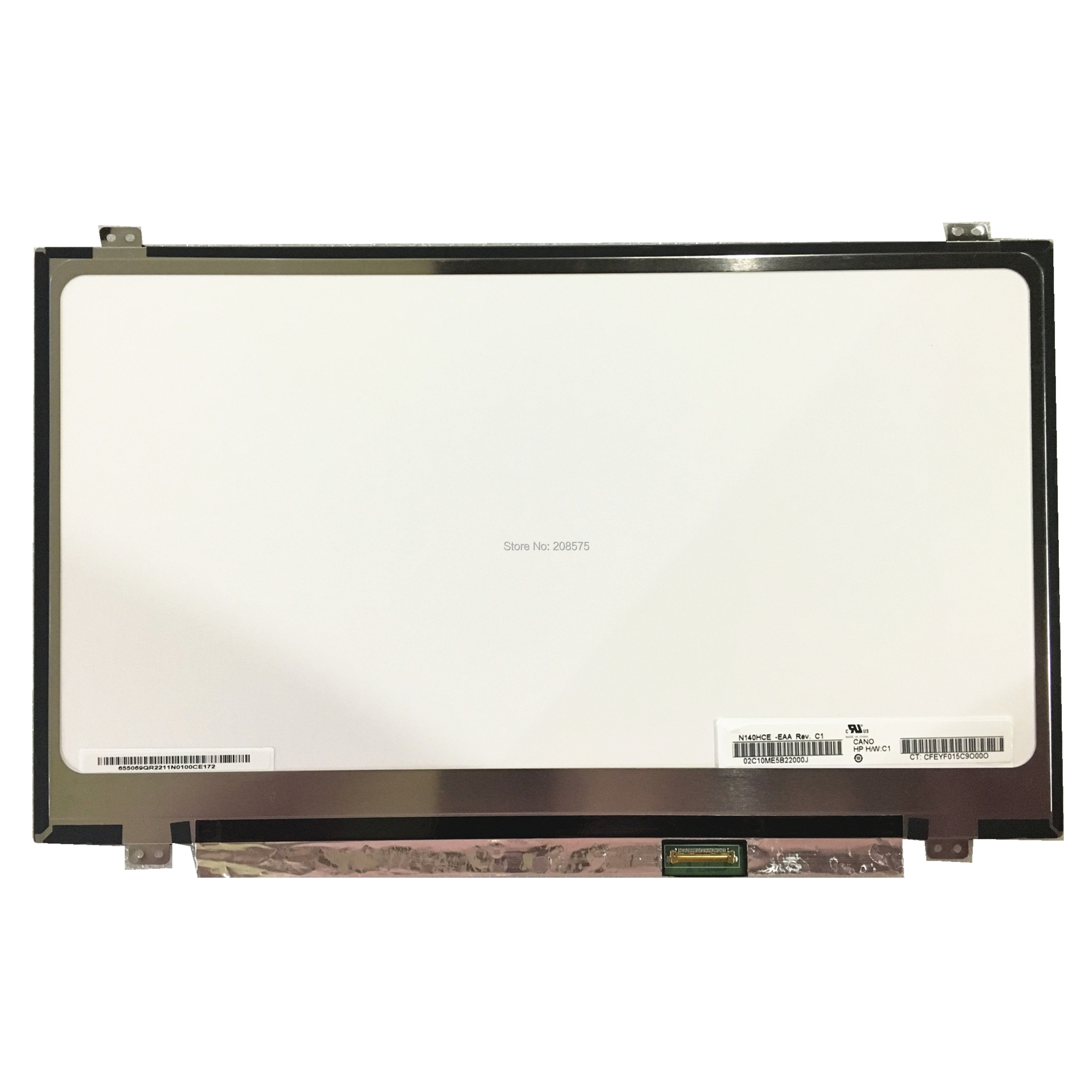 Free shipping N140HCE EAA N140HCE EAA N140HCE EAB N140HCE EBA EBB B140HAN02 0 14 inch slim