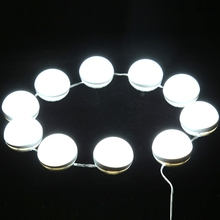 LED Bulbs Mirror Hollywood With USB Vanity Kit for Makeup Dimmable Lamp Lights