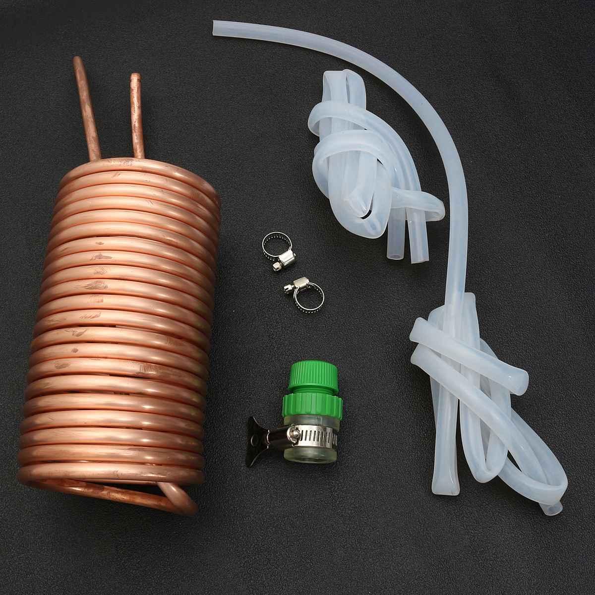 Refroidisseur de moût d'immersion de Tube de bobine en métal de cuivre refroidisseur de bière/vin