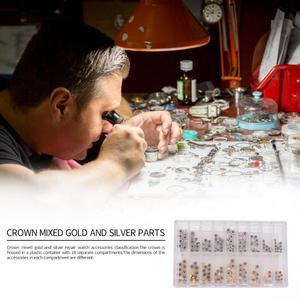 140pcs Watch Crown Parts Repla