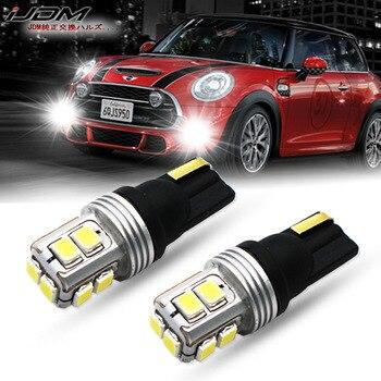 IJDM Error Canbus gratis T10 luces LED W5W 168 LED 194 V 12V 24V para mini Cooper F54 F55 F56 R52 R53 R55 R56 luces de estacionamiento blanco