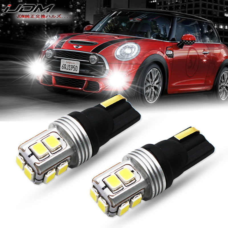 Ijdm Error Free Canbus T10 Led Lights W5w 168 194 12v 24v For Mini Cooper