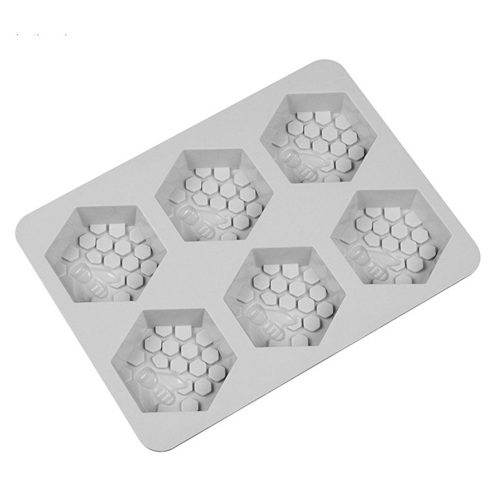 Cake Molds Humorous Adeeing 6 Holes Heat Resistant Silicone Cake Moulds Diy Handmade Honey Bee Shaped Soap Mold Great Varieties Kitchen,dining & Bar
