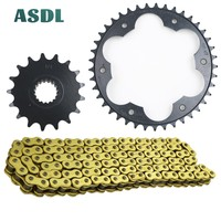 525 17T 41T Motorcycle Transmission Chain and front rear sprocket set for BWM F800 GS K72 Adventure Triple Black Trophy 08 17