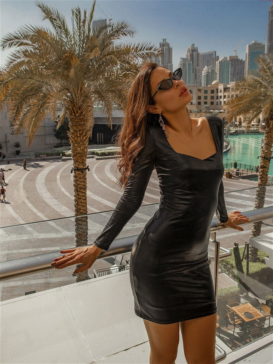 Dress C.H.I.C female dress lussotico 9817b female