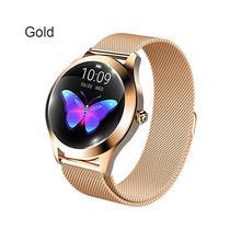 KW10 смарт-браслет Сталь ремень браслет часы мульти-спортивный режим смарт-часы Для женщин Smartwatch