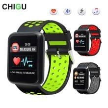 Чигу Спорт 3 Смарт-часы Для мужчин сердечного ритма Bluetooth наручные IP67 Водонепроницаемый Smartwatch Для Сяо mi Android IOS Телефон