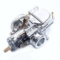 24mm PWK Cable Choke Carburetor & Intake Manifold Kit for Motorcycle ATV Scooter