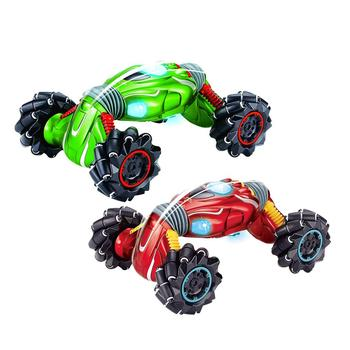 Remote Control Twisted Car 99002 Four-wheel Drive Climbing Stunt Car Light Music Electric Double-sided Special Effects Toys