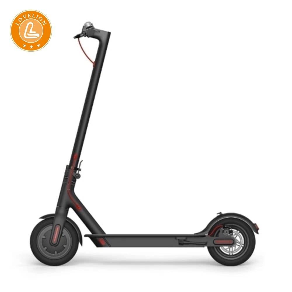 Scooter électrique adulte de LOVELION 2018 longboard hoverboard planche à roulettes patinete scooters électriques 30 KM kilométrage 201-500 W EW6