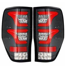 1 пара светодиодный DIY фонарь 2 цвета задний тормозной фонарь для Ford Ranger Raptor T6 T7 PX MK1 MK2 Wildtrak 2012 13 14 15 16 17 2018